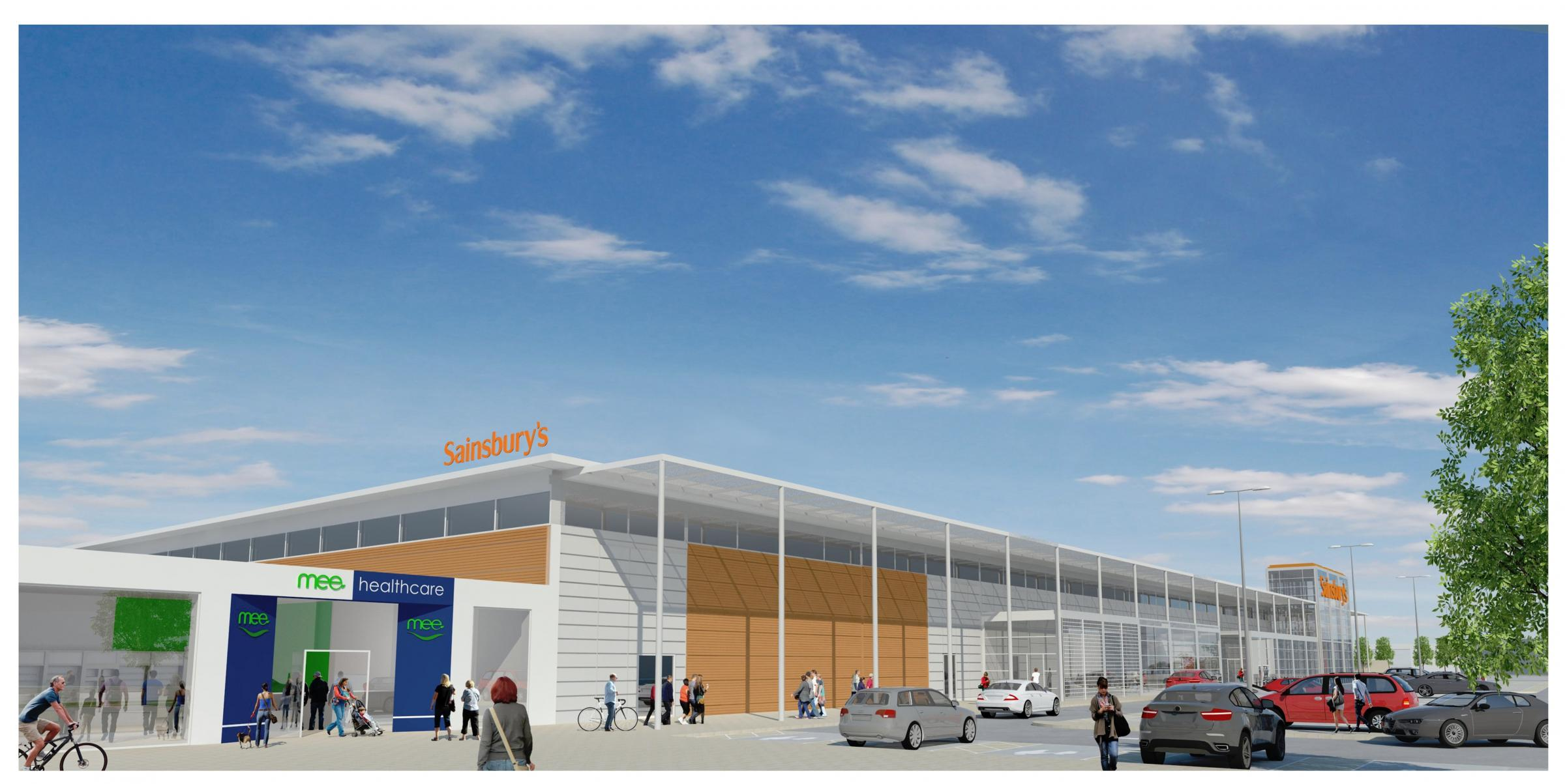 Plans for Sainsbury's third Colchester store unveiled
