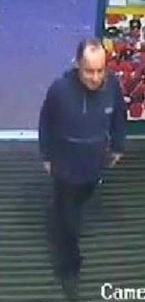 Police release CCTV image of man in connection with theft from Co-op