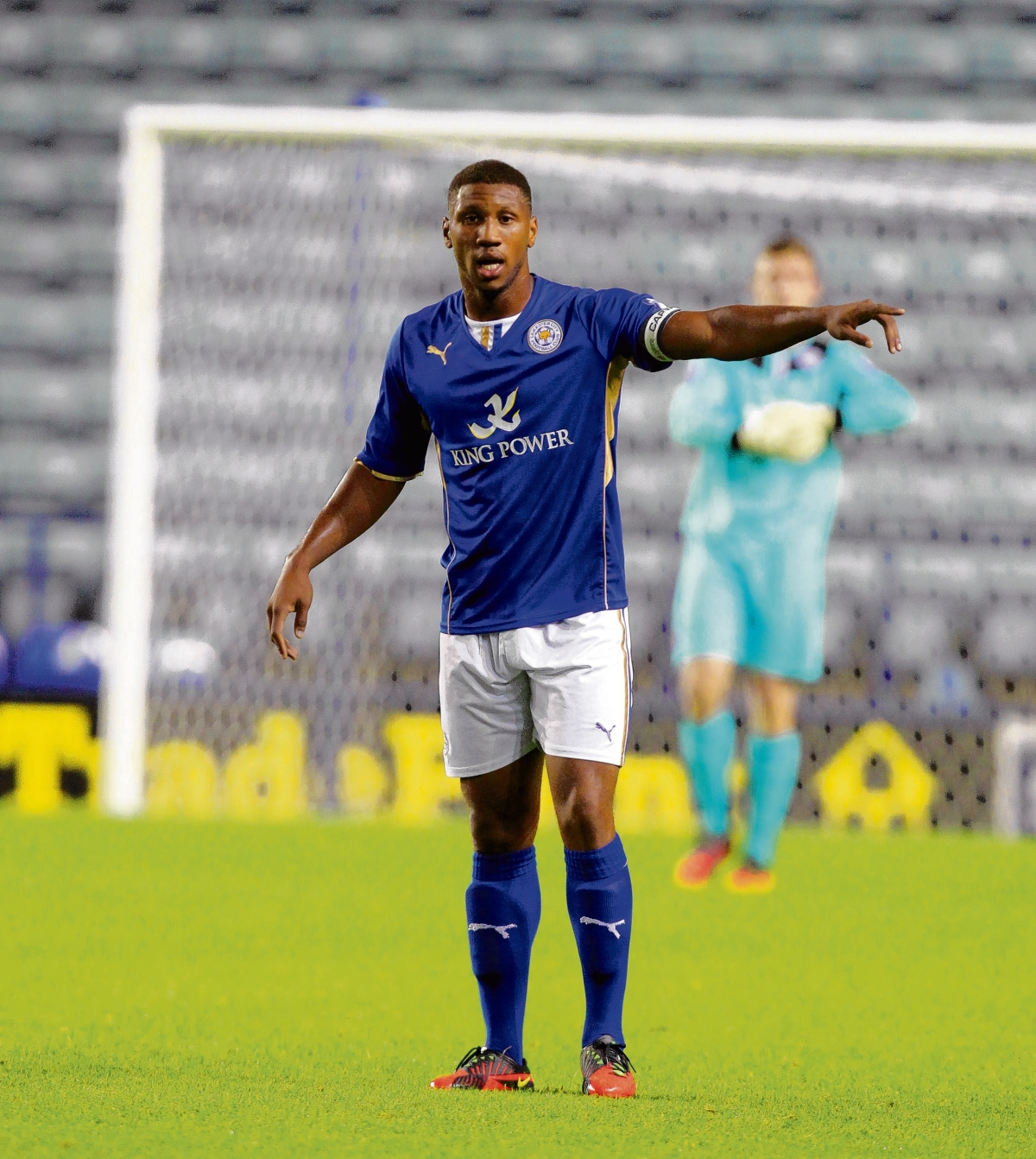 Loan ranger - Leicester City defender Alie Sesay is currently the only player Colchester United have on loan.