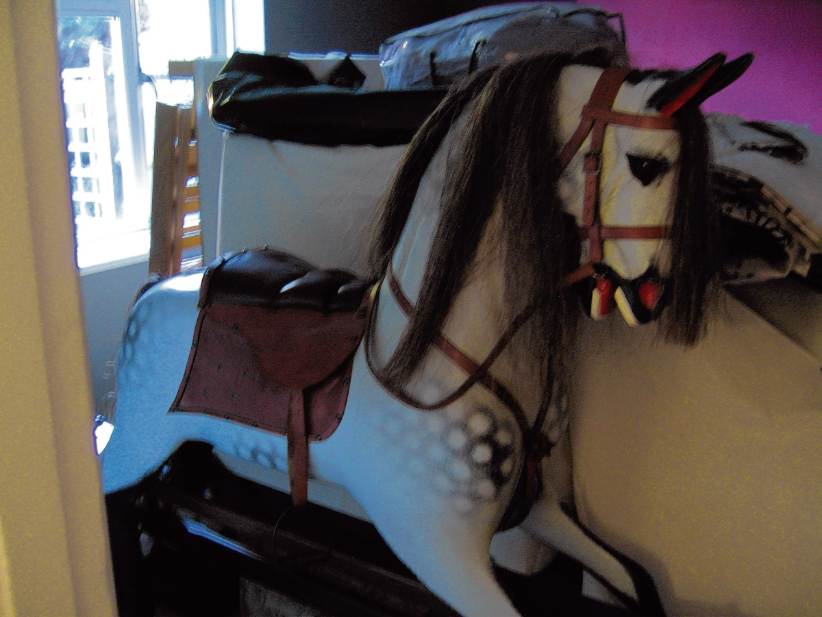 Family appeal for return of rocking horse after two burglaries