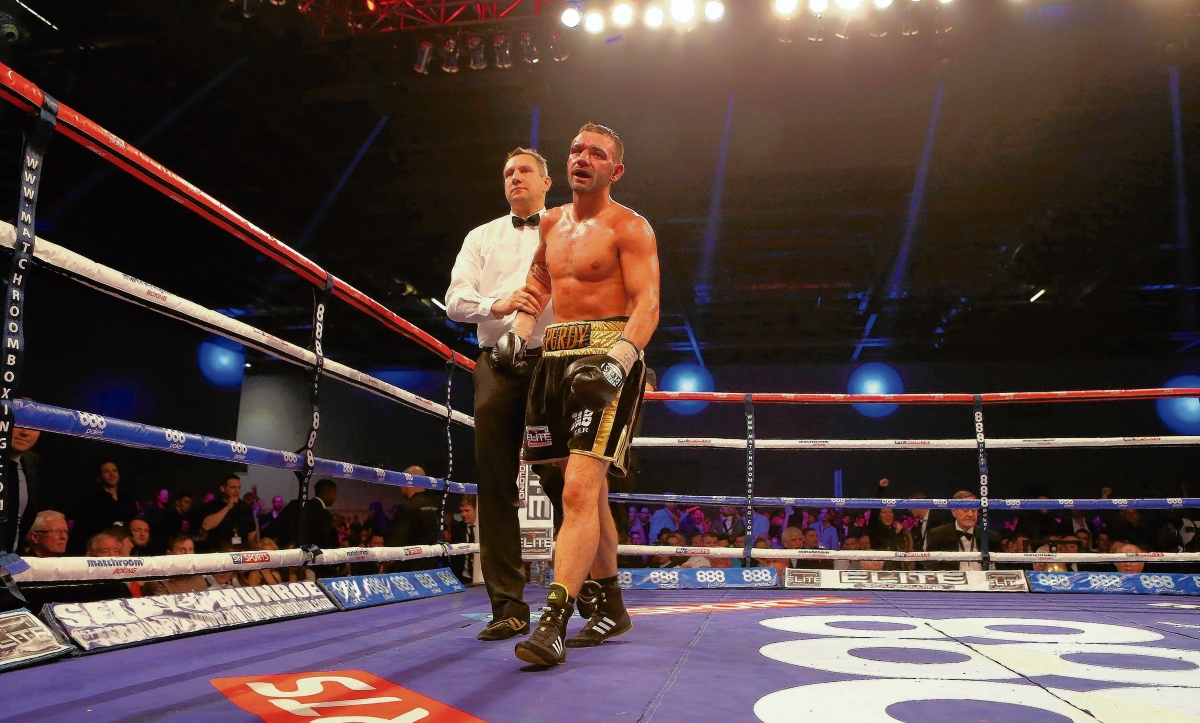 Itching to return - Colchester boxer Lee Purdy is eager to return to action after eye problems.