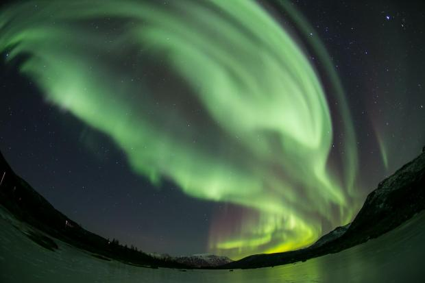 The Northern Lights.  Copyright PA.