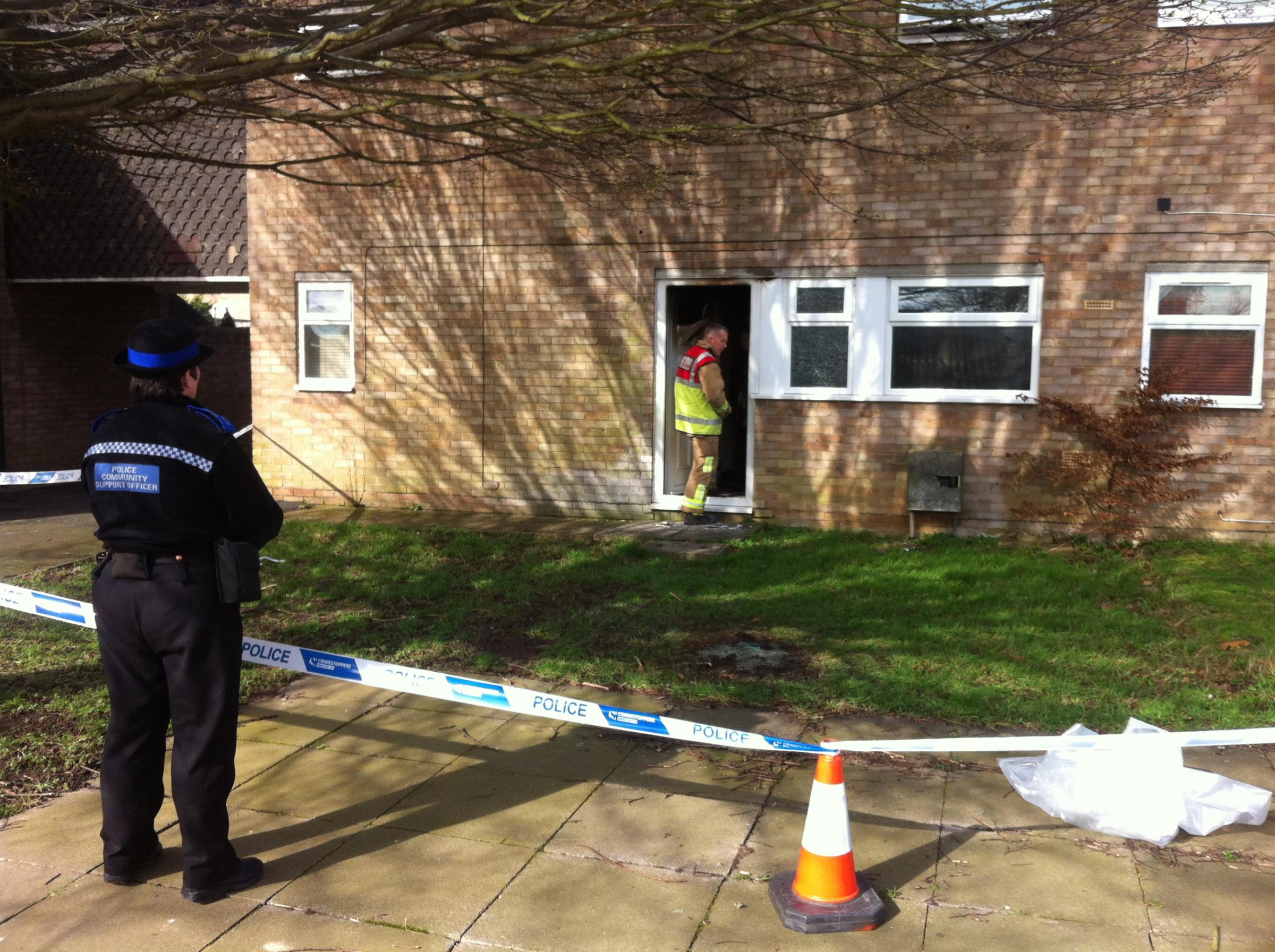 Man escapes Witham house fire through window