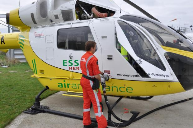Essex County Standard: Air ambulance delighted with Budget win