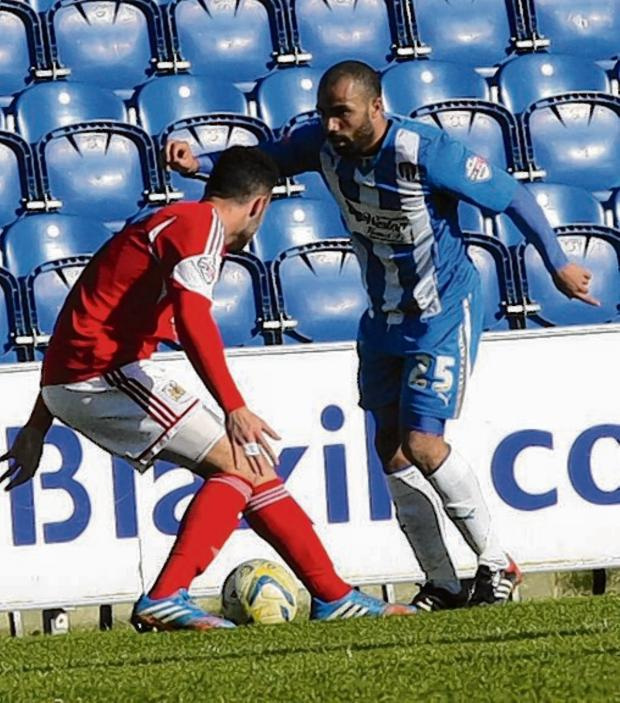 Essex County Standard: Happy to stay - Dominic Vose has signed a new two-year contract with Colchester United.