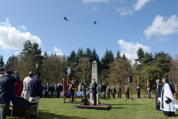 Video: Operation Varsity remembered in Marks Hall service