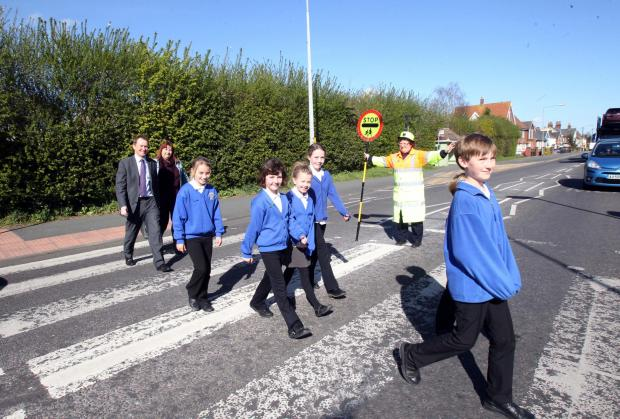 School crossing saved - for one year at least