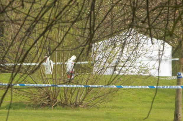 Police launch murder enquiry after a body is found in a park