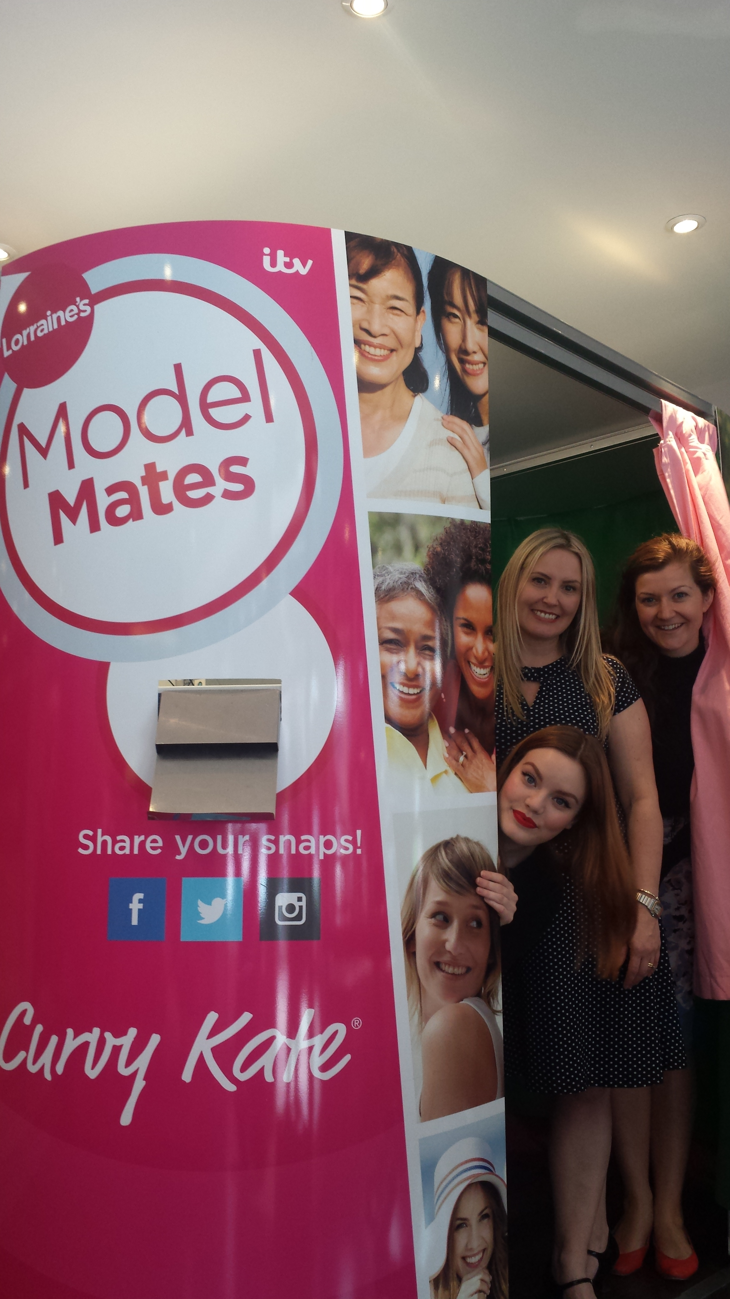 Model Mates photo booth in Colchester today