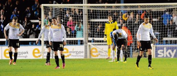 Essex County Standard: U's fall to defeat at Peterborough