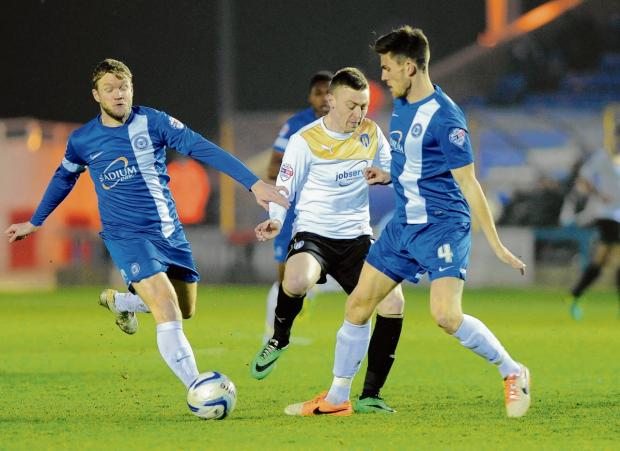 Dunne has no complaints after Posh defeat