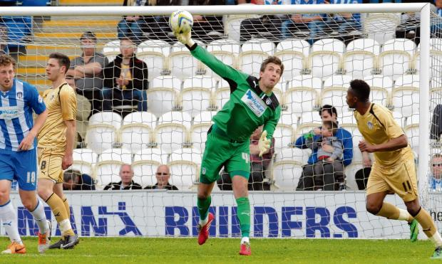 Realistic - Colchester United goalkeeper Sam Walker admits they are in