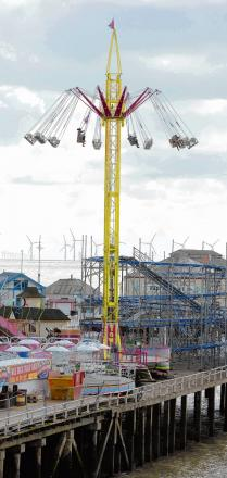 New attraction for thrill seekers on Clacton Pier