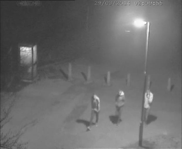James Attfield murder: Can you help find the people in the CCTV images?