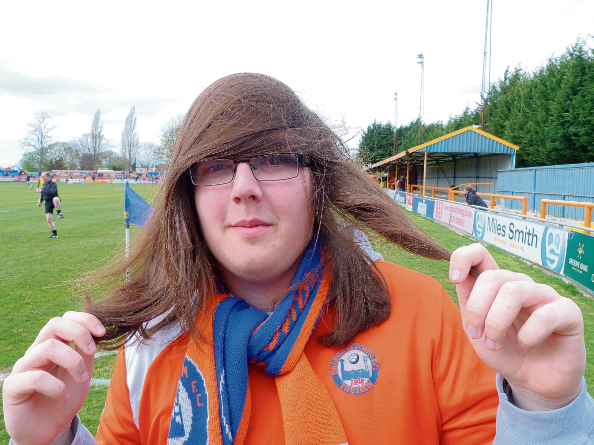 Daniel Turner has vowed to lose his locks if Braintree get into the Skrill Premier play-offs this season.