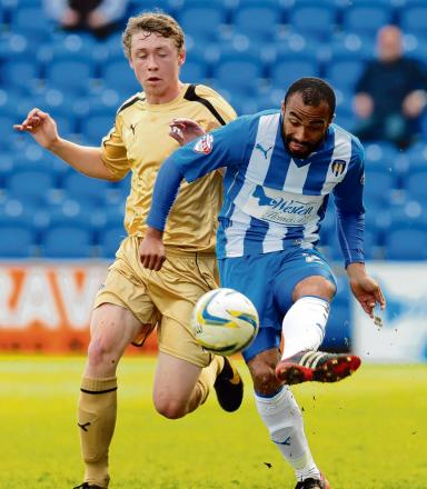 Confident - Dominic Vose is sure that Colchester United can preserve their League One status. Picture: SEANA HUGHES (CO90945-05)