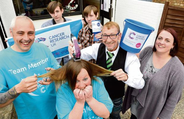 Essex County Standard: Body waxing, a headshave and a 24 hour relay...