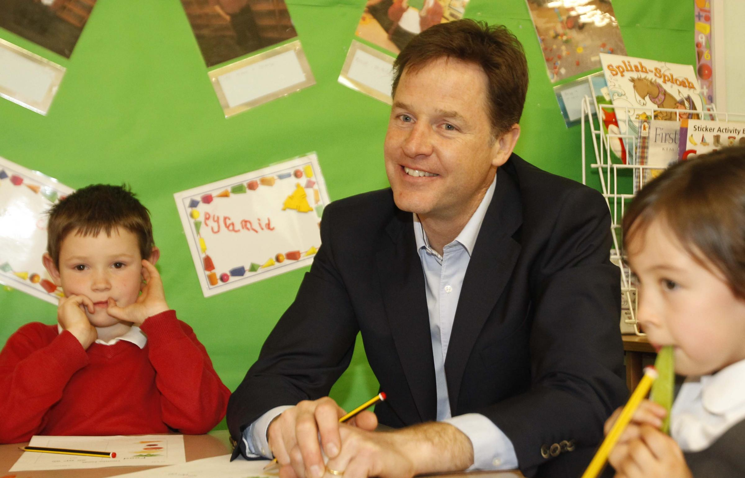 Nick Clegg grilled in tuition fees debate in Colchester