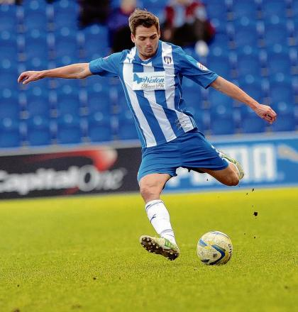 Biding his time - Ryan Dickson is yet to sign a new contract offered to him by Colchester United.