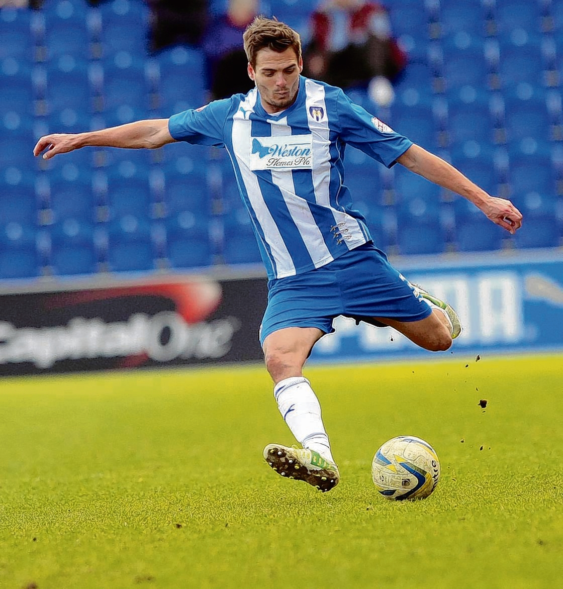 Should I stay or should I go? Ryan Dickson is considering a new contract offer from Colchester United. Picture: LOUISE SMITH (CO90354-10)