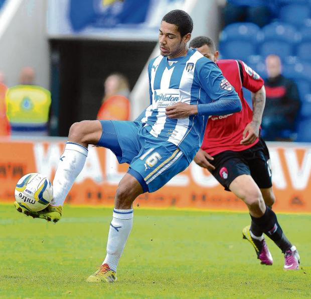 No deal - Alex Wynter appears no closer to signing for Colchester United, despite their interest in him.