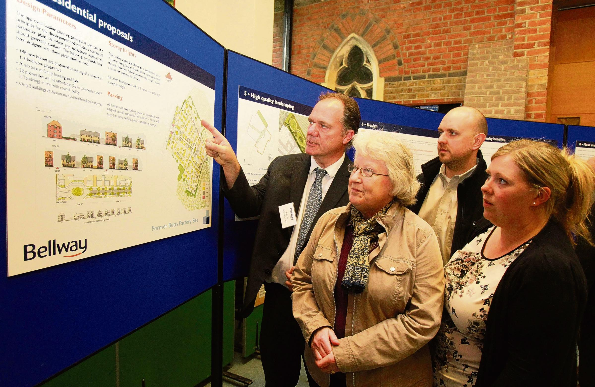 Homes on former Betts factory site could be ready within a year