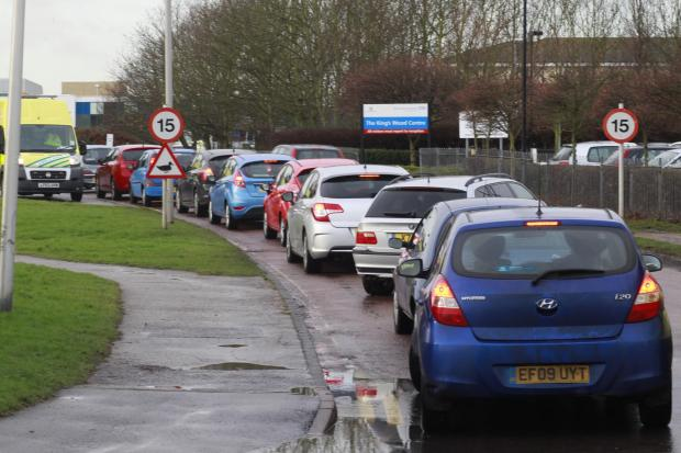 New car park to sort out horrific hospital traffic