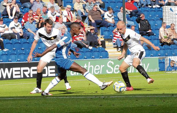 Essex County Standard: Rovers return - Colchester United will take on Doncaster Rovers in League One again next season. Picture: ADRIAN RUSHTON (CO69248-096)