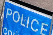 Car crash blocks the A120 near Wix