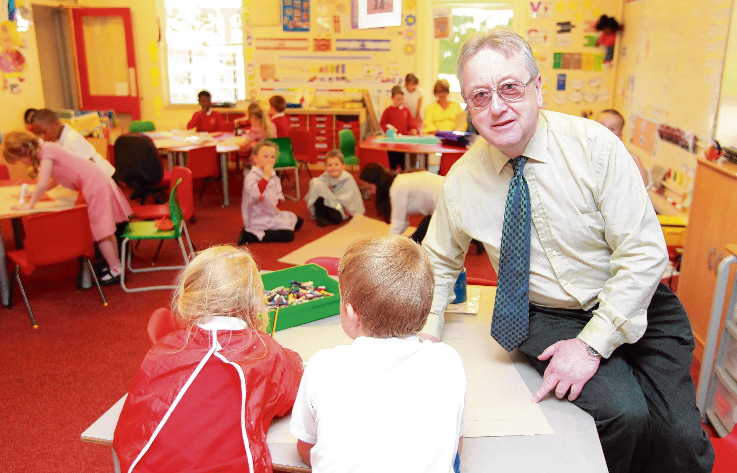 Iain Birtwell is the school's new executive headteacher