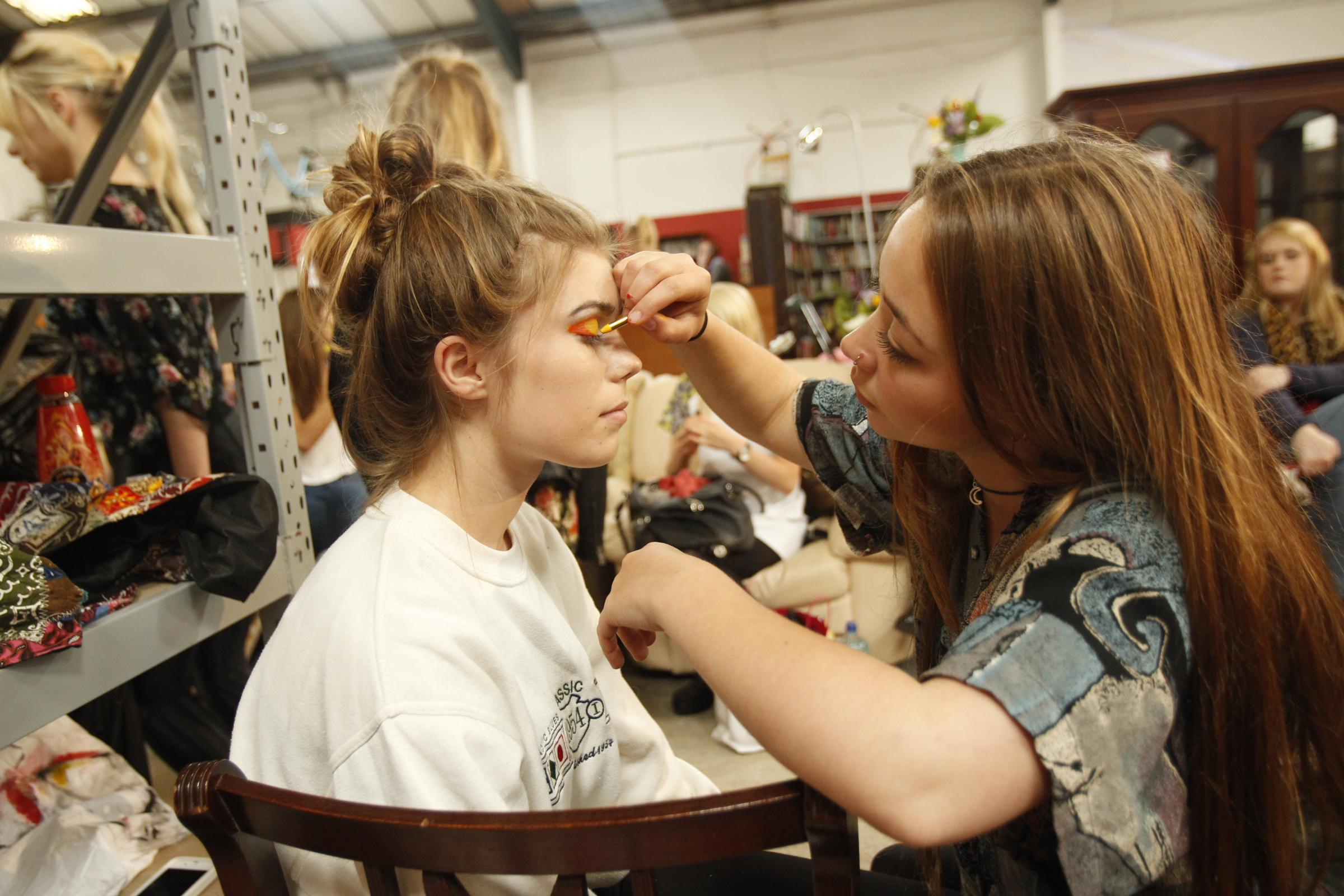 Students' fashion show boosts charity's profile