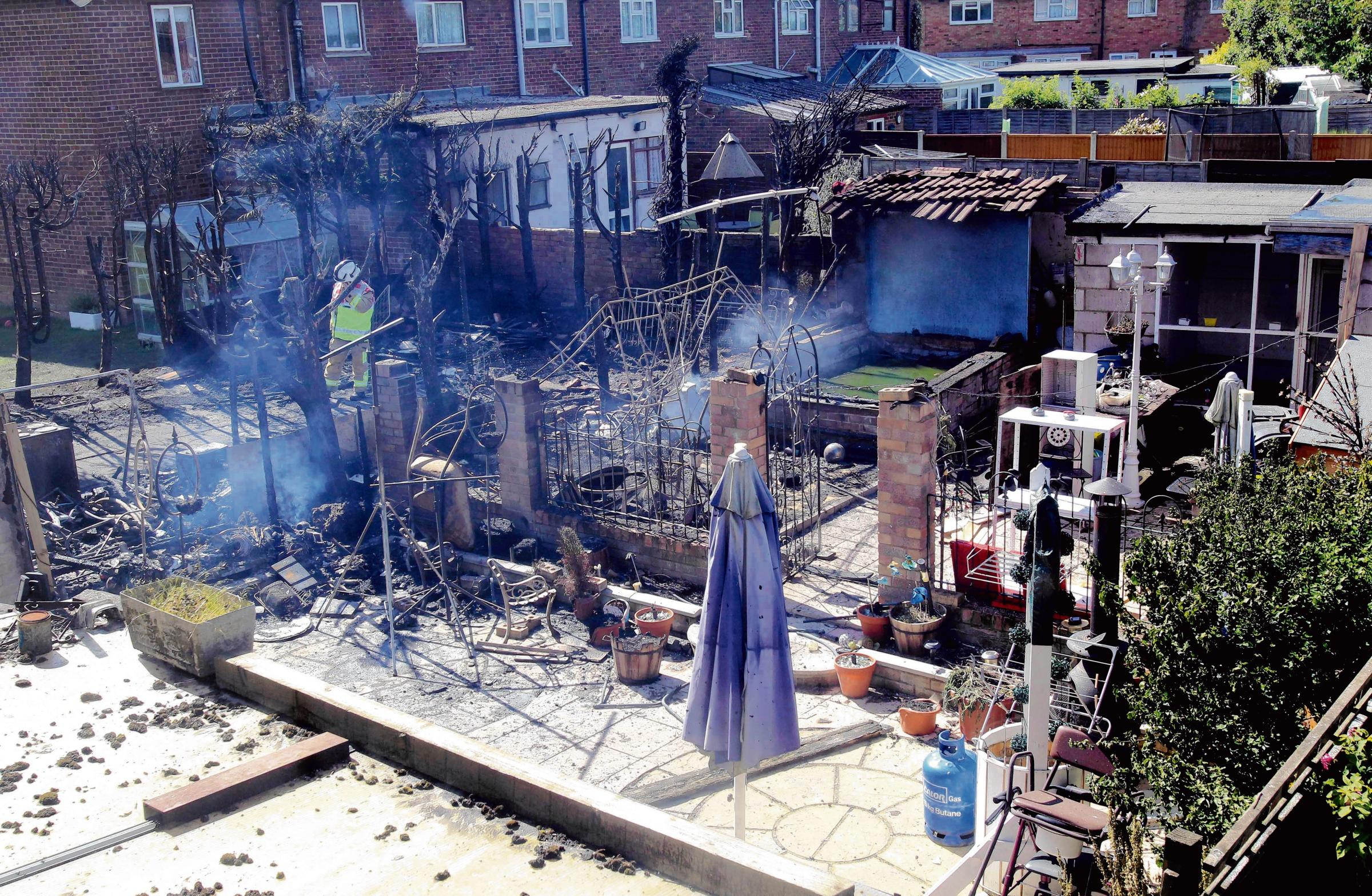 Three homes affected by fire