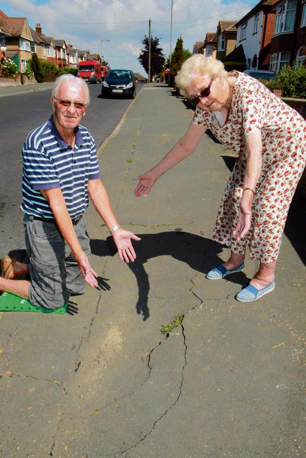 Essex County Standard: Our pavements are a hole lot of trouble