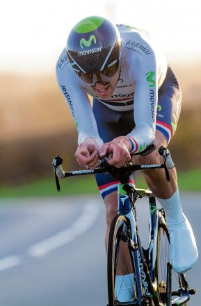 Tough challenge - Alex Dowsett will attempt to win the National Time Trial jersey for a fourth straight year. Picture: Andy Sheridan