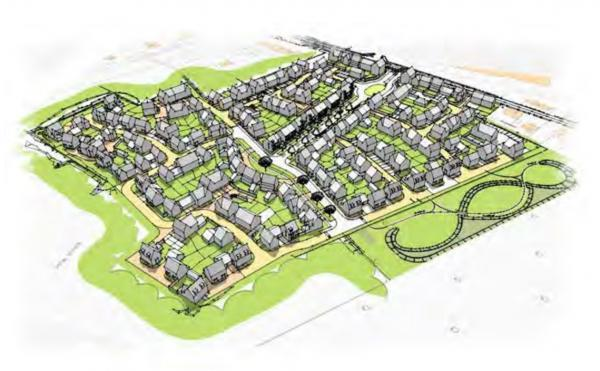 Plans submitted for homes on Betts factory site