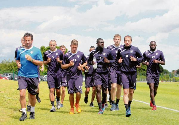Essex County Standard: Making strides - Colchester United are currently preparing for the new League One season, which starts on August 9. Picture: STEVE ARGENT (CO96359-10)