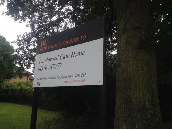 Larchwood Care Home has suspended and fired staff