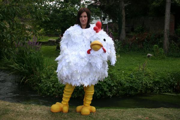 Plucky Sam sets off to campaign for chickens