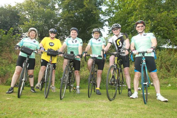 Training begins for gruelling 1,000 mile bike ride in aid of charity