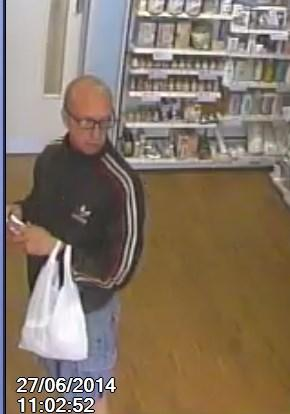CCTV image released after cosmetic thefts