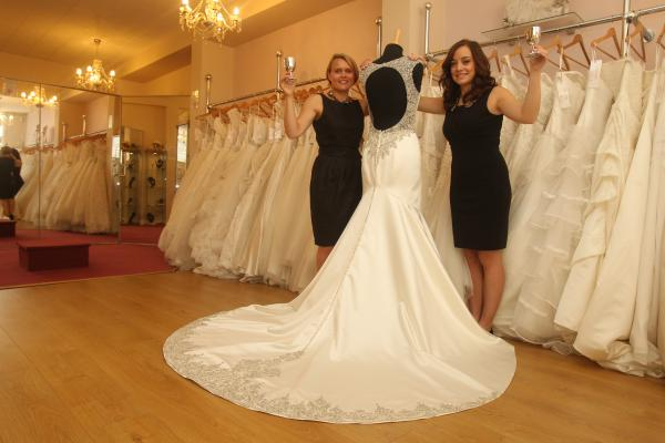 Shop voted Essex's most popular bridal store