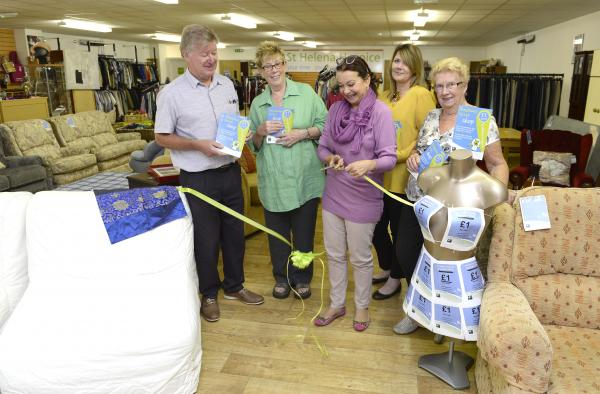 Hospice's £1 bargains prove to be a hit