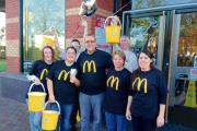 Restaurant McCharity walk raises £2,000