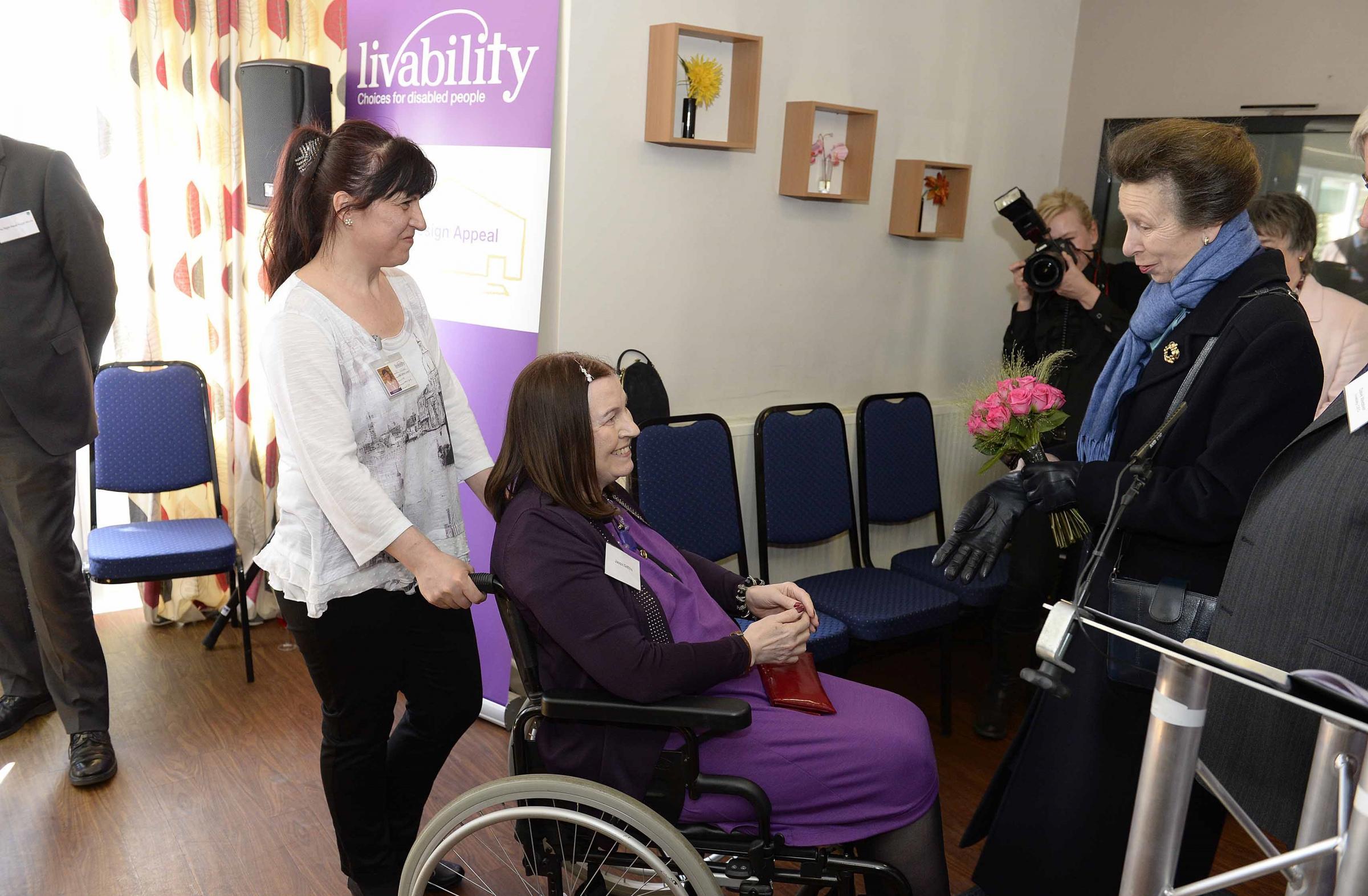Princess Anne visits Colchester