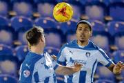 Looking to establish himself - Alex Wyner is hoping to command a regular place in Colchester United's starting line-up next season.