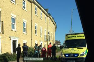 Man fighting for his life after plunging from flat window