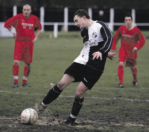 Essex County Standard: Striker Bryan is following Brown to Grays